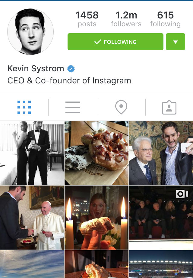 ceo instagram