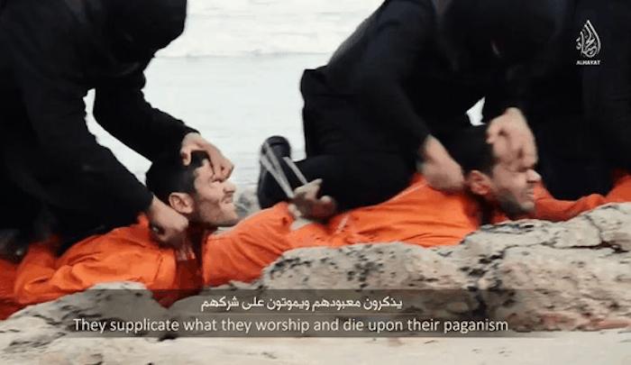 isis ejecuta cristianos