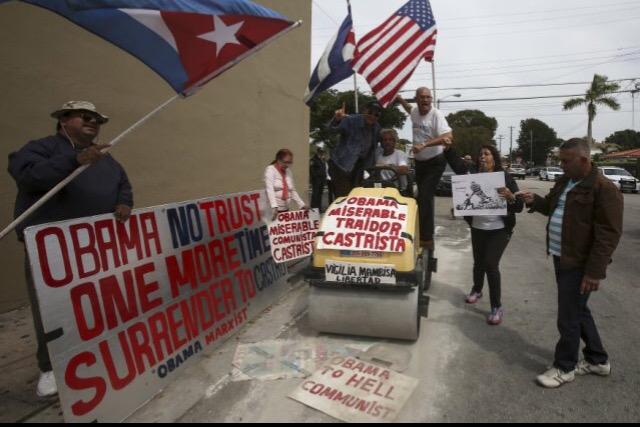obama protests