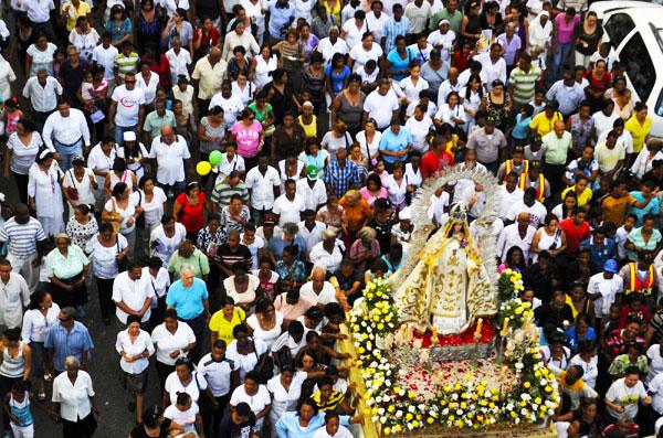 procesión católica