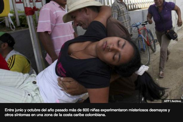 niñas en Colombia