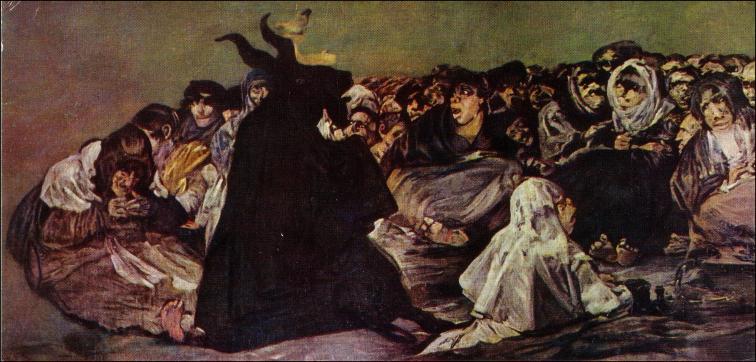 Goya Baphomet