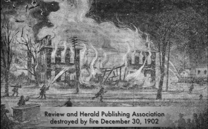 Revie Herald fire
