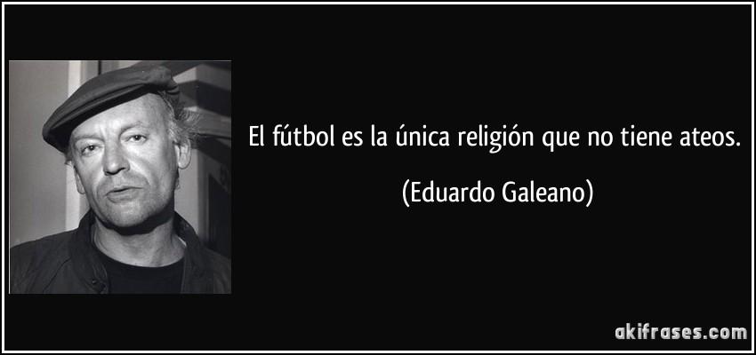 Galeano futbol