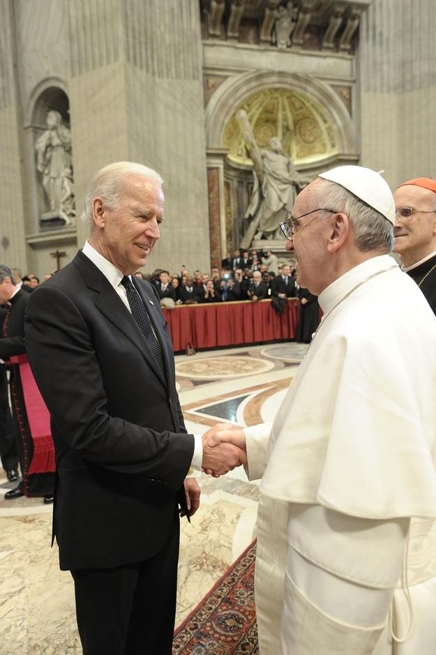 Biden pope francis