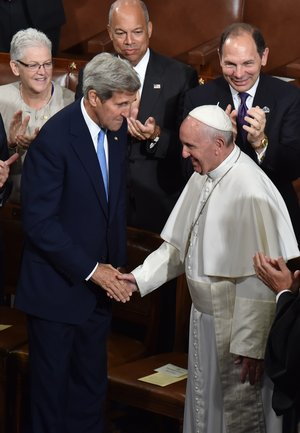 kerry pope francis