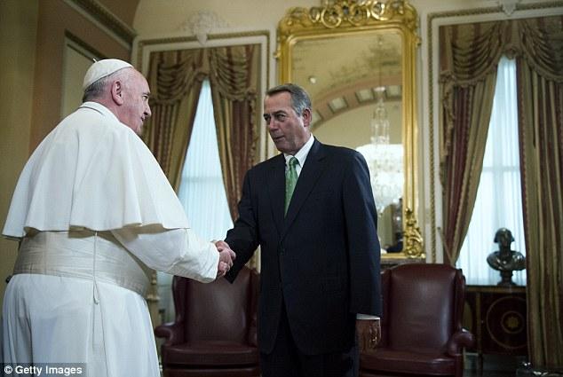 Boehner pope