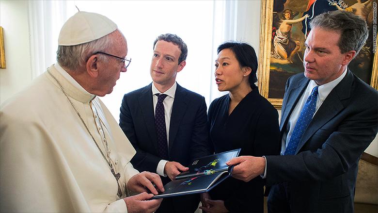 facebook y el vaticano