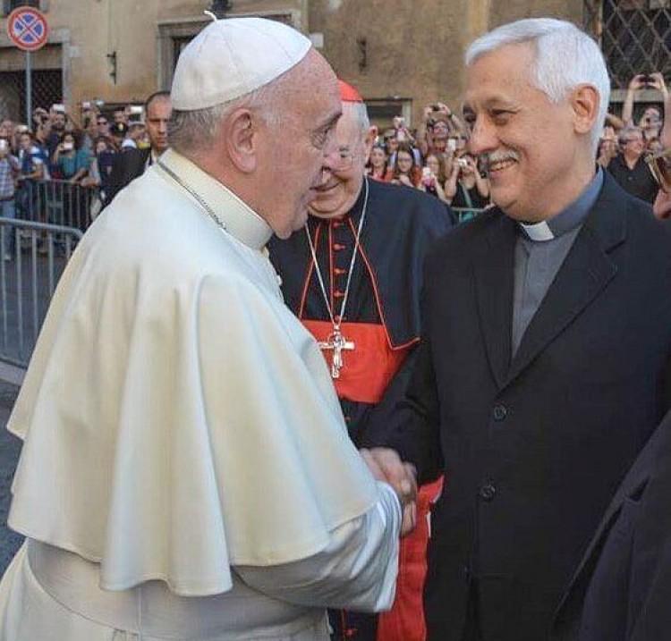 Sosa y Bergoglio