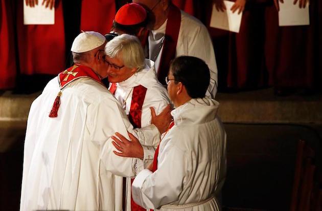 catolicos y luteranos