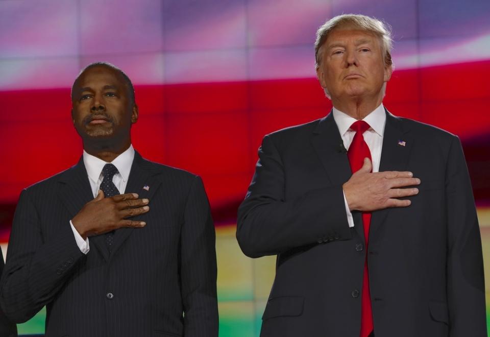 Ben Carson y Trump