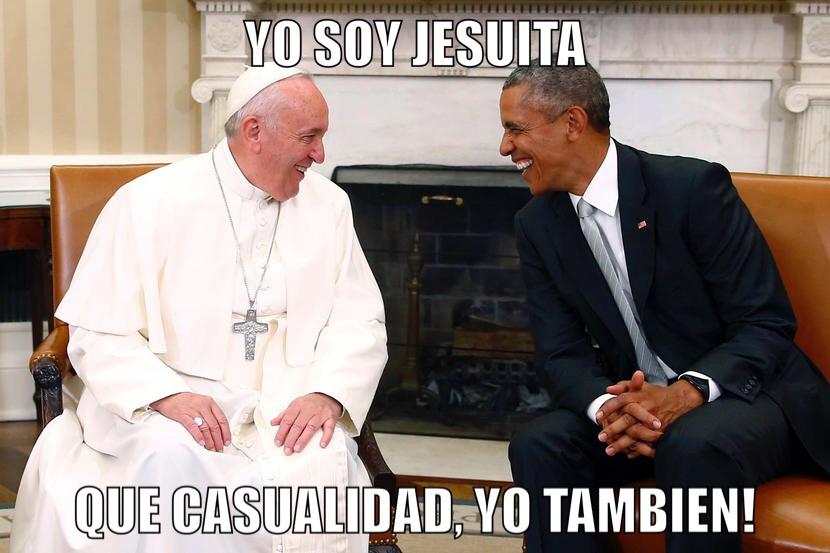 Resultado de imagen para obama jesuita