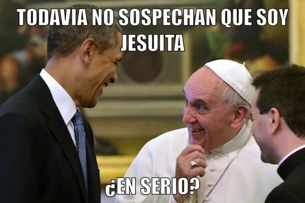 obama jesuita y francisco