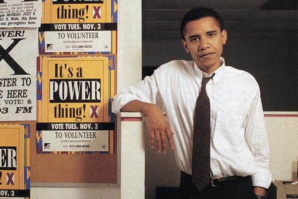 obama organizador comunitario