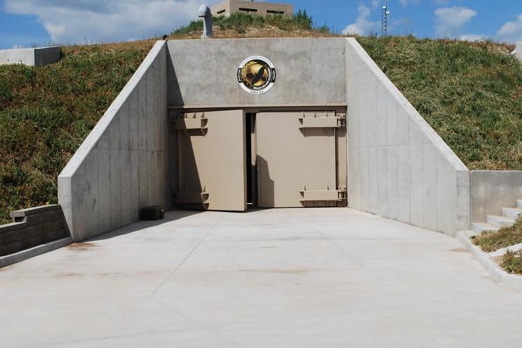 entrada bunker