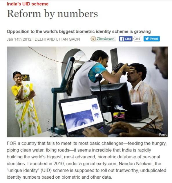 biometrics india
