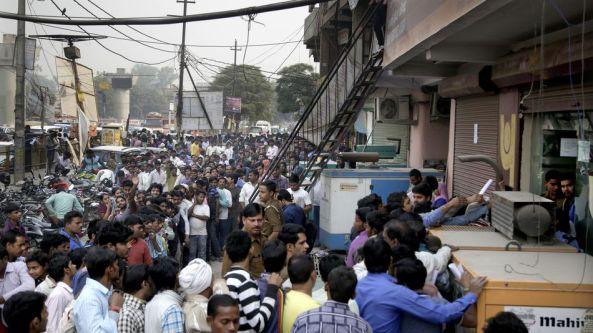 indian cash crisis