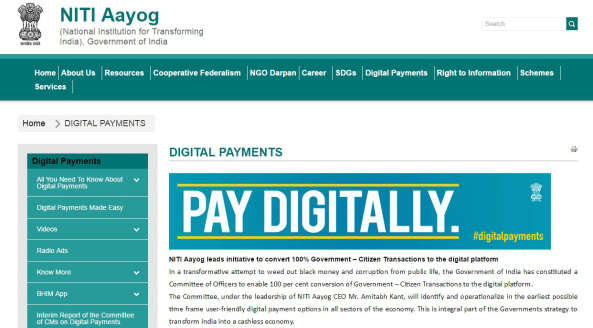 pay digitally india
