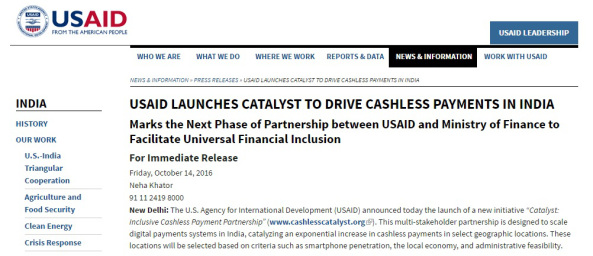 usaid cashless society