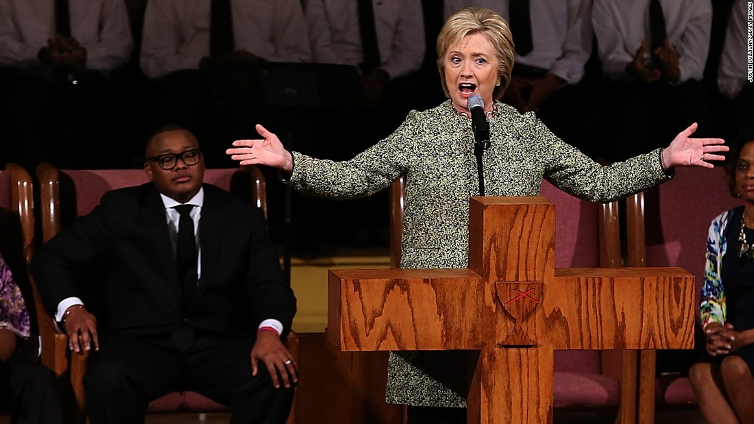hillary preacher