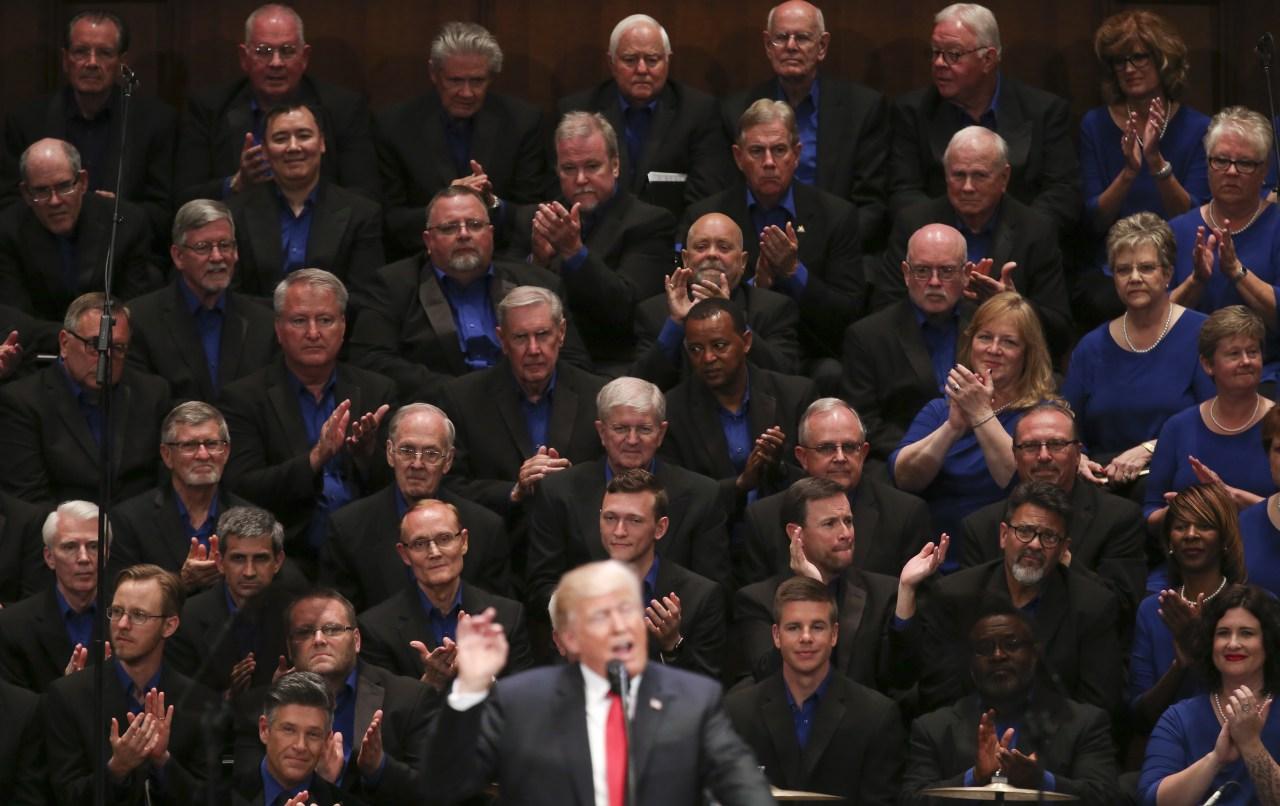 Trump y el protestantismo apóstata
