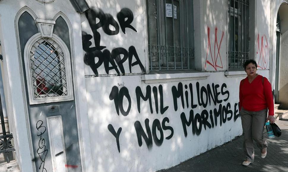 el costo del papa en Chile